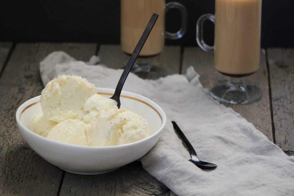 eggnog ice cream