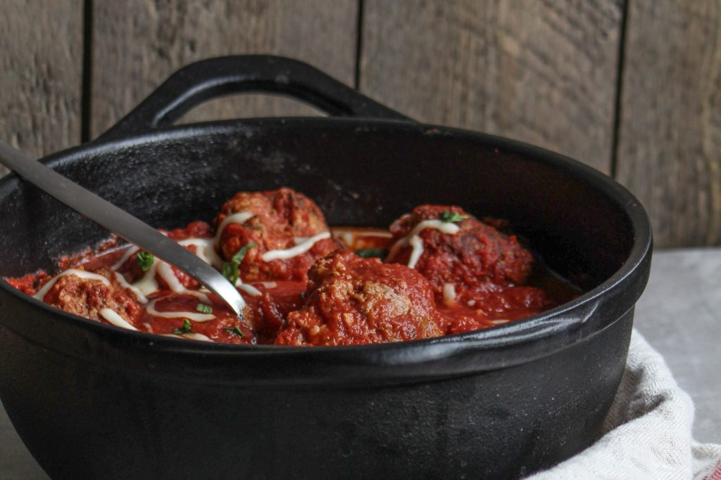 dutch oven meatballs