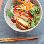 grilled chicken banh mi bowls