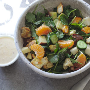 Colorful Winter Fruit Salad
