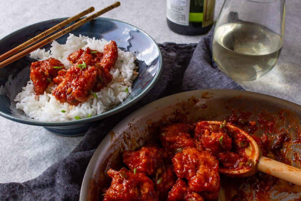 chinese jade red chicken