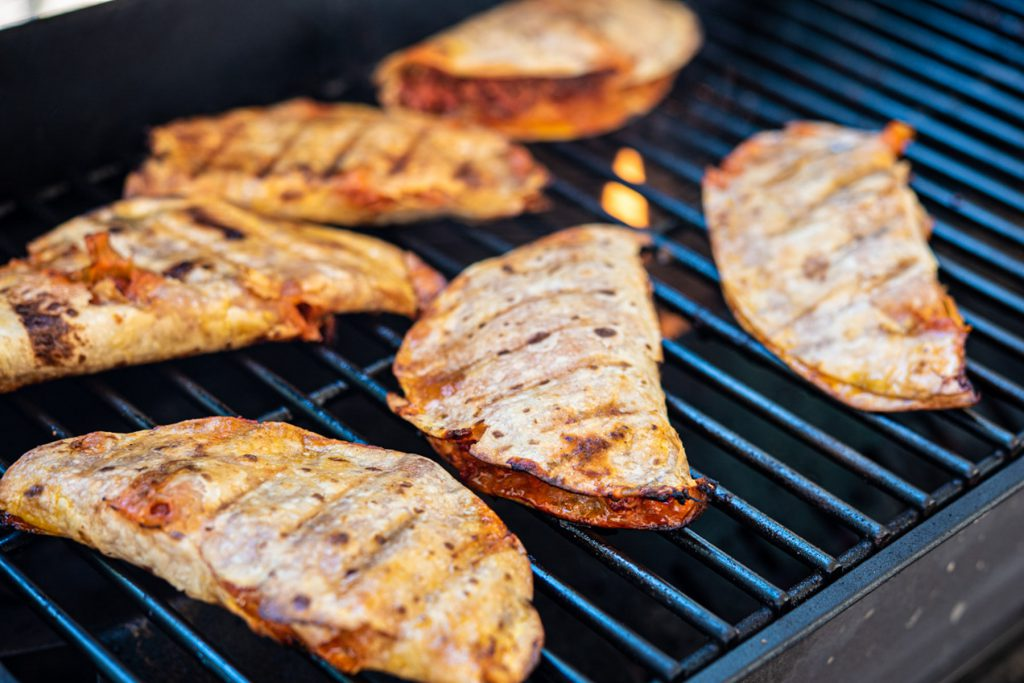 grilled chorizo tacos