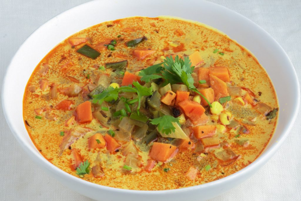 turmeric vegetable soup