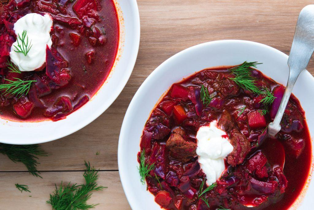 borscht beet soup