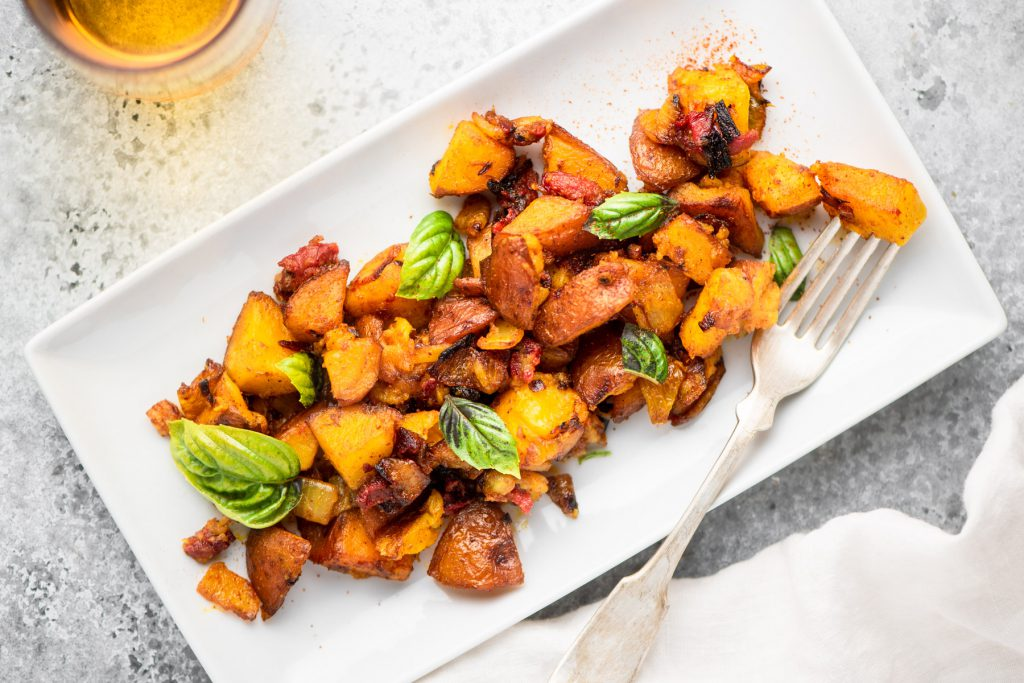 breakfast potatoes with turmeric