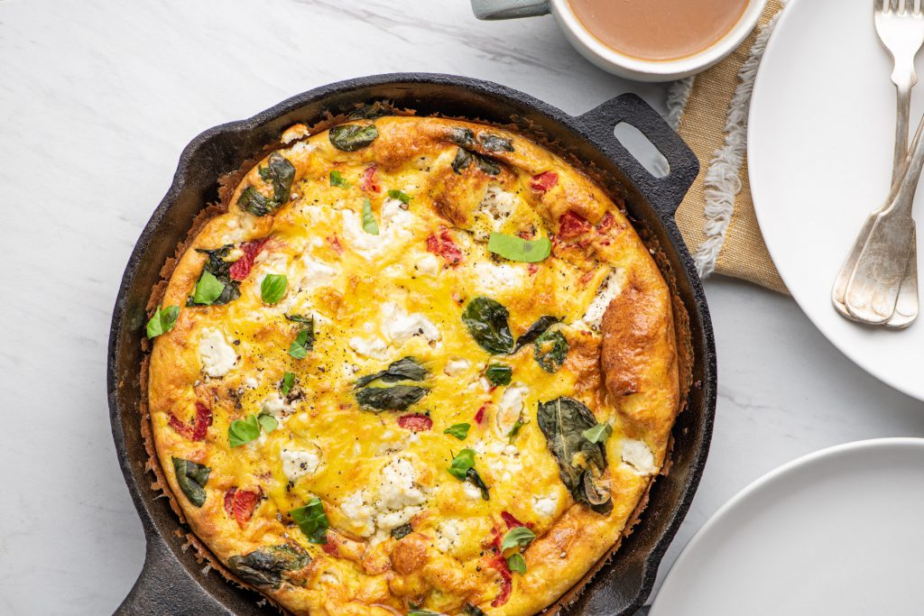 frittata with sausage