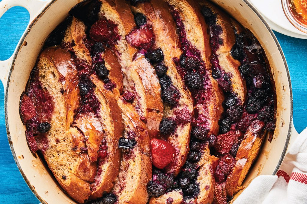 brandy berry french toast