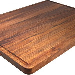 large walnut cutting board