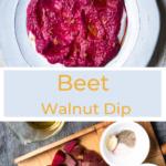 beet walnut dip